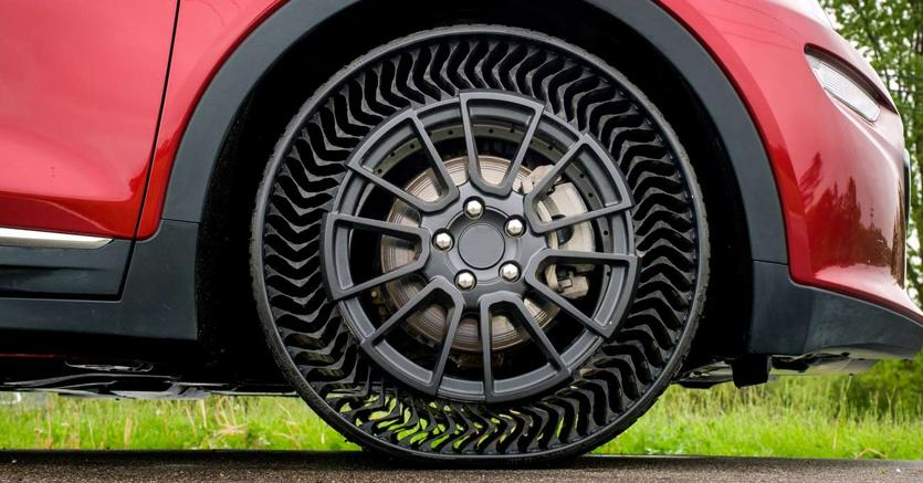 pneumatici senza aria