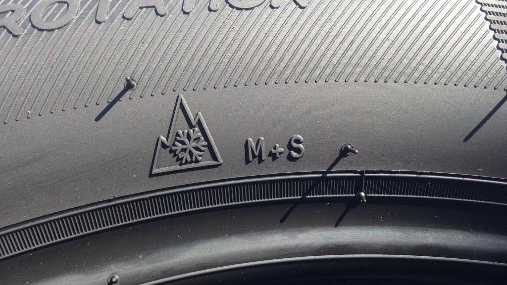 sigla m+s negli pneumatici significato