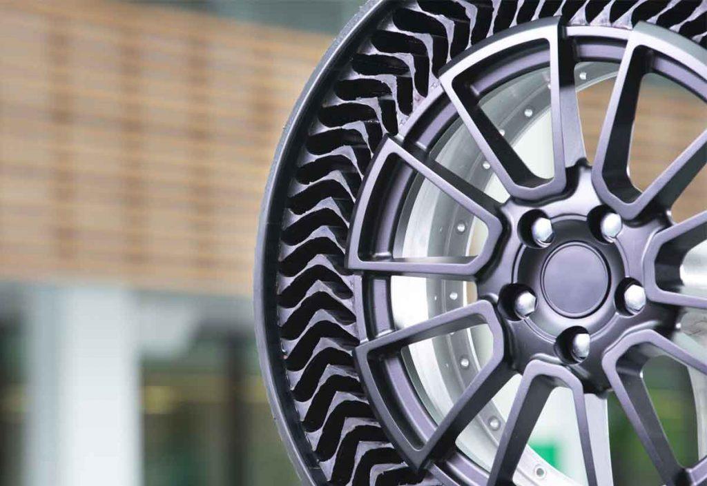 pneumatici senza aria e foratura